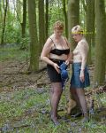 Jackie & Samantha In The Woods II