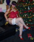 Xmas With ChatroomGirl Stockingloversuk