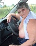 Grandma Libby's New Car