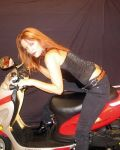 Lusty Leigh Rides A New Toy