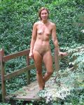 Sexy Suz Walks In The Woods