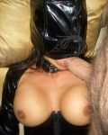 Debs Gets Hot In PVC