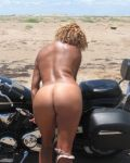 Sexy Mexican On A Bike