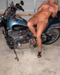 Naked On The Harley