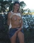 Aussie Kym Goes Flashing