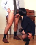 Sexy Secretary Goes Down