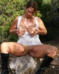 Sexy Mama Out In The Bush