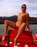 Sophie Naked On The Boat