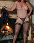 Mrs Honey Warming By The Fire II