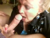 Hot Cougar Deepthroat