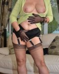 Stockings Babe Horny & Wet