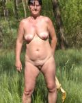 More Doris Naked Outdoors