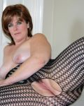 Maxine In Fishnet