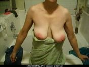 Wife's 36d Saggy Titties