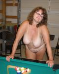 Debbie Playing Pool