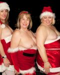 Three Naughty Santas