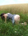 Ass In The Grass