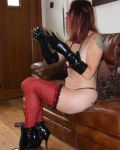 Red Leopard Stockings II