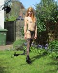 Stripping In The Garden