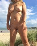 My Gorge Wife At The Beach IV