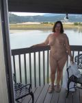 Nude On The Hotel Balcony