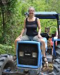 Busty Tina On The Tractor