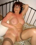 Mature Slut Thinks About Playing